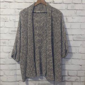 Sonoma knitted cotton blend shrug
